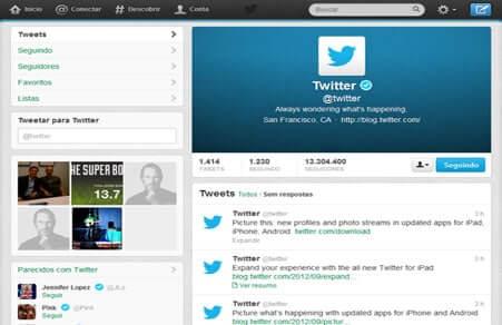 Twitter atualiza Apps e fica mais parecido com Facebook