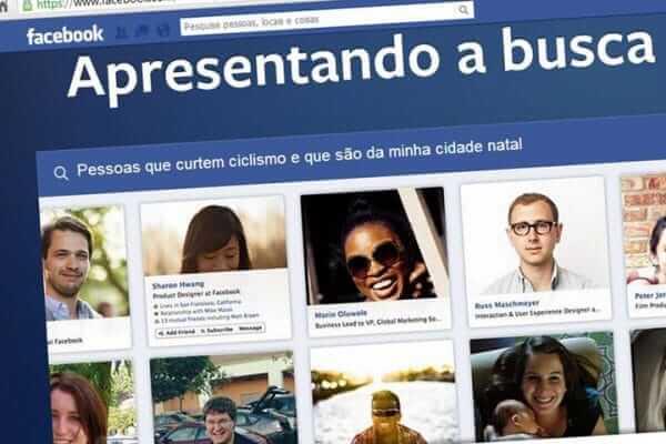 A busca social do Facebook