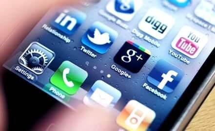 Redes sociais lideram uso nos smartphones