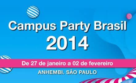 Campus Party Brasil 2014, em São Paulo, será a maior realizada no país