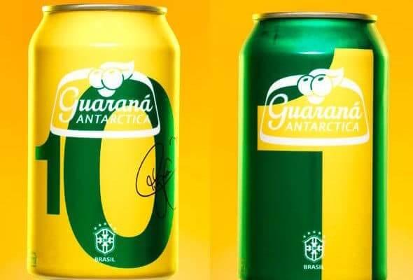 De cara nova: produtos mudam embalagem para a Copa