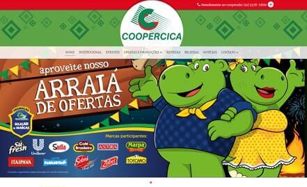 Conheça o novo site da Coopercica