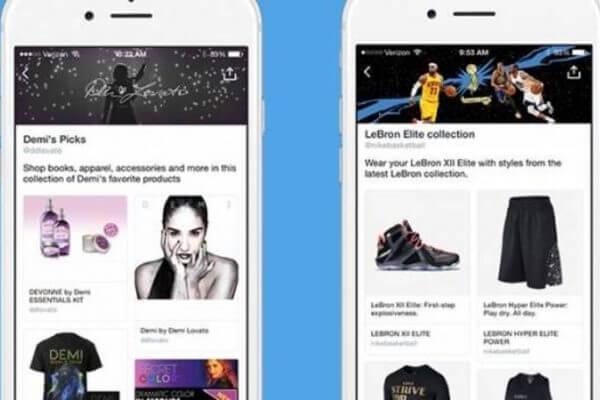"""Twitter cria página de produtos com botão """"comprar"""""""