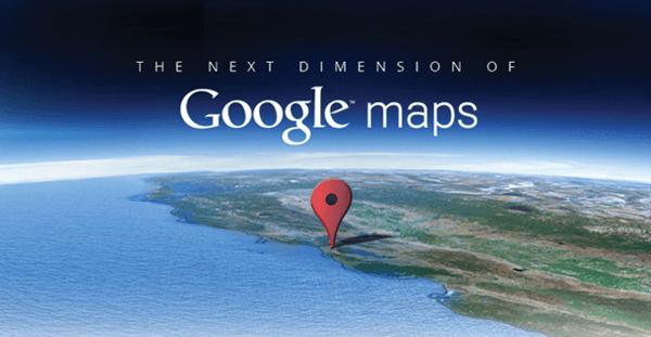 Mapa offline Google Maps