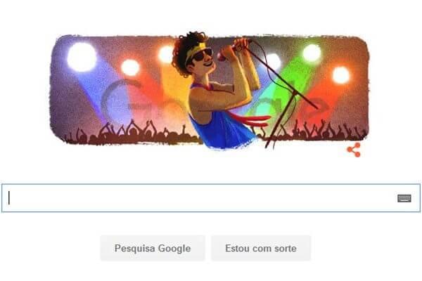 Google cria doodle em homenagem a Cazuza