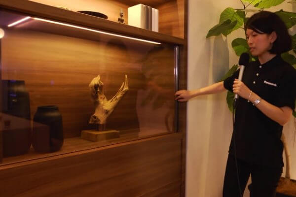 Panasonic lança TV com tela transparente