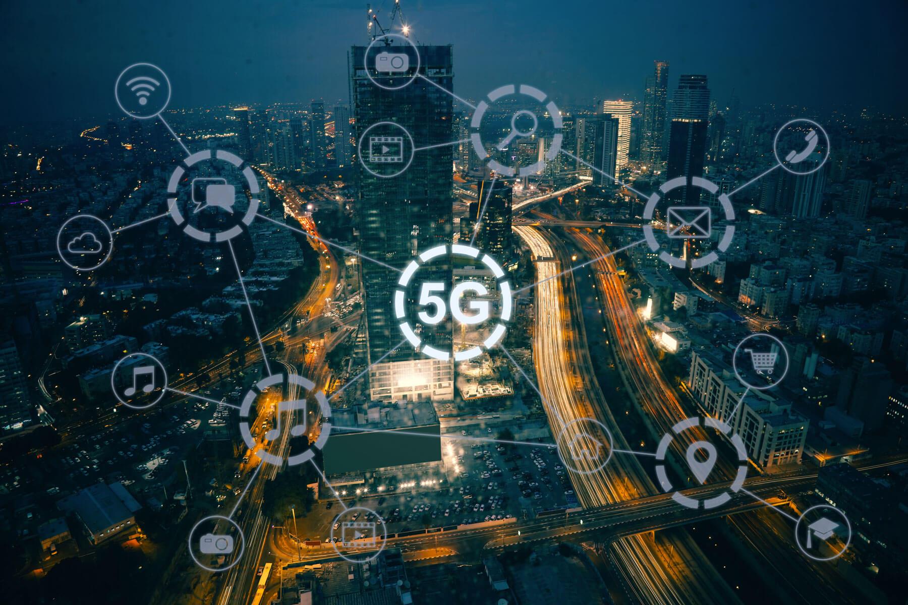 China lança a maior rede 5G do mundo
